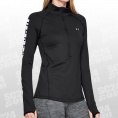 ColdGear Armour Graphic 1/2 Zip LS Women