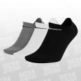 Everyday Lightweight No-Show Socks 3PPK