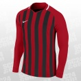 Striped Division III Football LS Jersey