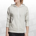 Must Haves Heathered FZ Hood Women