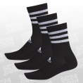 3 Stripes Cushioned Crew Socks 3Pack