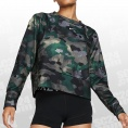 Rebel Dry Fleece Crew Camo Women