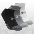 HeatGear No Show Socks 3er-Pack