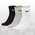 Everyday Cotton Cushioned Ankle Socks 3PPK