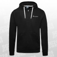 Hooded Logo Fleece Full Zip Sweatshirt