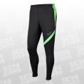 Nike Dry Academy Knit Pant KPZ schwarz/grün Größe S