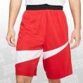 Nike Dry Hybrid Shorts rot/weiss Größe L