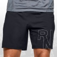 Launch Stretch Woven Logo 7 Inch Short
