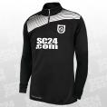 10x Liga 2.0 1/4 Zip Top + SC24.com Logo & Wappen