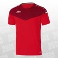 Jako T-Shirt Champ 2.0 rot Größe L