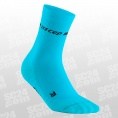 Neon Compression Mid Cut Socks