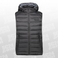 Padded 3M Thinsulate Zip Hood Vest