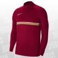 Nike Dri-FIT Academy21 Drill Top rot/braun Größe XXL