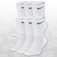 Everyday Cotton Cushioned Crew Socks 6PPK