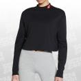 Sportswear Love Mock Crop LS Tee Women