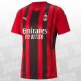 AC Milan Home Replica Trikot 2021/2022