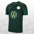 Nike VfL Wolfsburg Stadium Away Jersey 2021/2022 grün Größe M