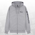 Bench Maslow FZ Hooded Sweatshirt grau/schwarz Größe XXL