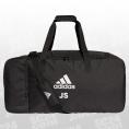 adidas Tiro Duffelbag L 12er Taschenpaket inkl. Veredelung schwarz/weiss Größe UNI