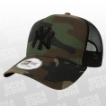 9FORTY New York Yankees Clean A-Frame Camo Trucker Cap