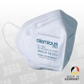 30x atemious Pro FFP2 Viren-filternde Atemschutzmaske