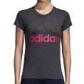 Essentials Linear Slim Tee Logo Women
