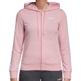 Essentials Solid Full Zip Hoodie Women