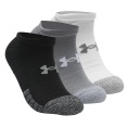 HeatGear No Show Socks 3er-Pack