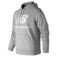 Essentials Stacked Logo Pullover Hoodie
