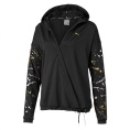 Metal Splash Lux Wrap Training Hoodie Women