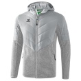 Padded Fleece Hooded Jacket